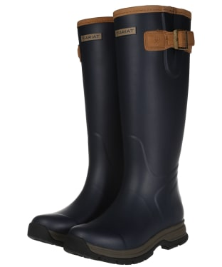 Women's Ariat Burford Waterproof Rubber Boots - Navy