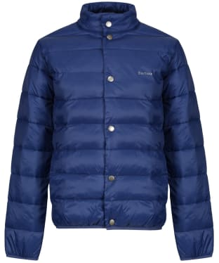 Boy's Barbour Sergeant Quilted Jacket, 10-15yrs - Regal Blue