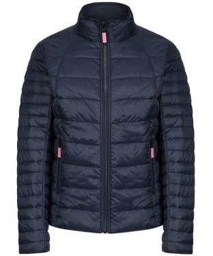 Girl's Barbour Daisyhill Quilted Jacket, 2-9yrs - Navy