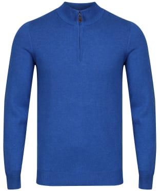 Men's Alan Paine Selhurst Half Zip Mock Neck Sweater - Regatta