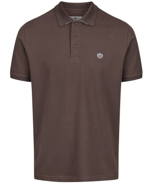 Men's Alan Paine Falmouth Pique Polo Shirt - Coffee