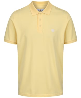 Men's Alan Paine Falmouth Pique Polo Shirt - Lemon