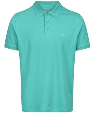 Men's Alan Paine Falmouth Pique Polo Shirt - Peppermint