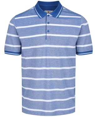 Men's Alan Paine Warmley Stripe Pique Polo Shirt