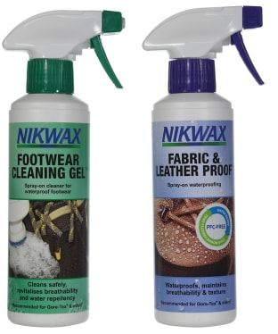 Nikwax Cleaning, Fabric & Leather Proof™ Set