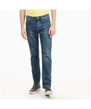 Men's Timberland Squam Lake Stretch Denim Jeans - Mid Scrub