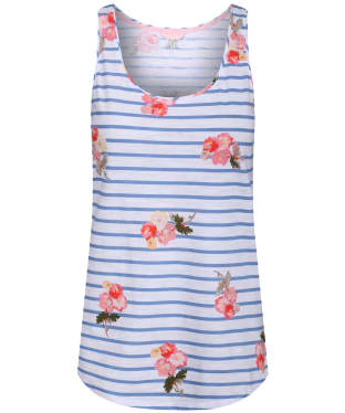 Women's Joules Bo Printed Vest Top