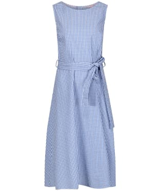 Women's Joules Fiona Sleeveless Dress - Blue Gingham