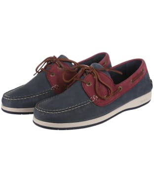 Men's Dubarry Pacific ExtraLight® Deck Shoes - Navy / Bordeaux