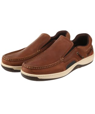 Men's Dubarry Yacht Loafers - Chestnut