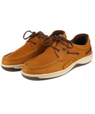 Men's Dubarry Navigator Deck Shoes - Whiskey