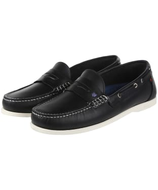 Men's Dubarry Spinnaker Slip-on Deck Shoes - Navy