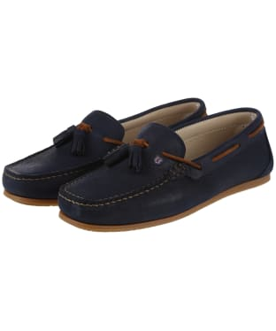 Women's Dubarry Jamaica Boat Shoes - Navy