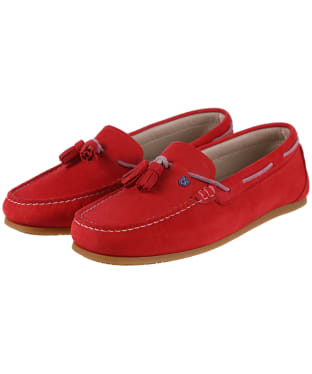 Women's Dubarry Jamaica Boat Shoes - Poppy