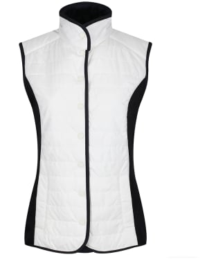 Women's Dubarry Bayview Quilted Gilet - Sail White Multi
