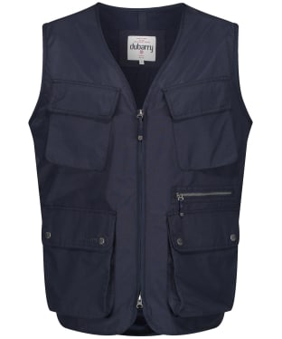 Men's Dubarry Burtonpoint Utility Vest - Navy