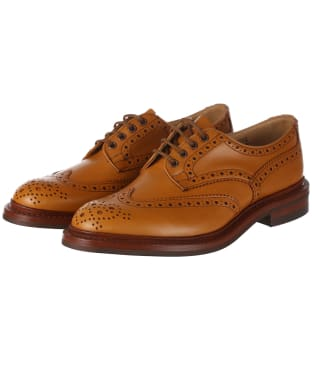 Men's Trickers Bourton Country Shoes - Acorn Antique