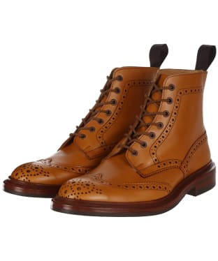 Men's Trickers Stow Country Boots - Acorn Antique