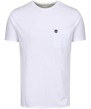 Men's Timberland Dunstan River Pocket Slim Tee - White