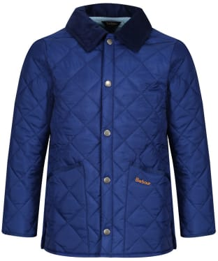 Boy's Barbour Liddesdale Quilted Jacket, 2-9yrs - Atlantic