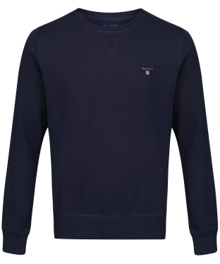 Men's GANT Crew Sweatshirt - Evening Blue
