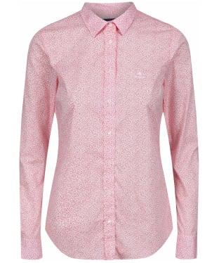 Women's GANT Micro Floral Shirt - White