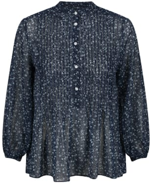 Women's GANT Porcelain Chiffon Blouse - Persian Blue