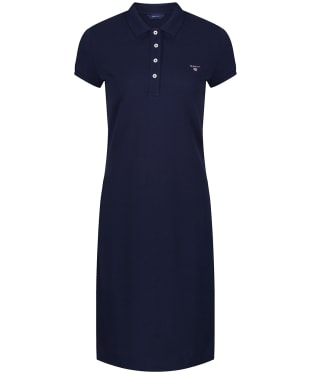 Women's GANT Original Pique Dress - Evening Blue