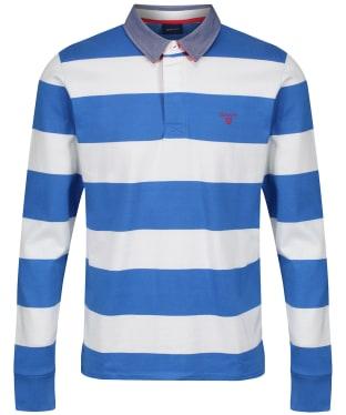 Men's GANT Contrast Barstripe Heavy Rugger Polo Shirt