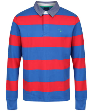 Men's GANT Contrast Barstripe Heavy Rugger Polo Shirt