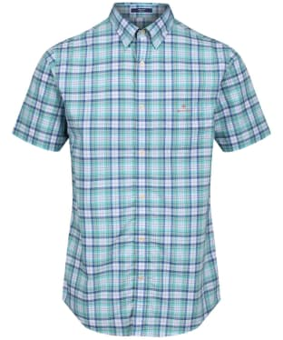 Men's GANT Tech Prep™ Check Shirt - Pool Green