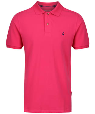 Men's Joules Woody Classic Polo Shirt - Bright Pink