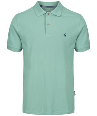 Men's Joules Woody Classic Polo Shirt - Mint Green