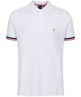 Men's Musto Cove Short Sleeve Polo Shirt - White