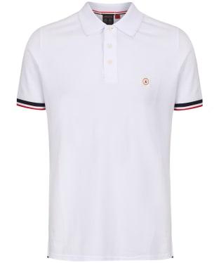 Men's Musto Cove Short Sleeve Polo Shirt - White
