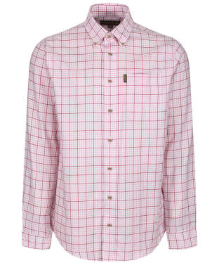 Men's Musto Classic Button Down Check Shirt - Goodwood Pink