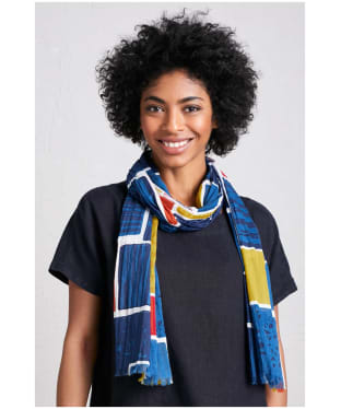 Women's Seasalt New Everyday Scarf - PATCHWORK FL EC