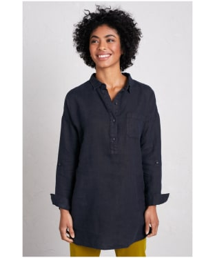 Women's Seasalt Nicky Berry Shirt - Dark Night