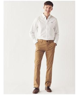 Men's Crew Clothing Slim Fit Chinos - Tan