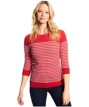 Women's Dubarry Dunraven Sweater - Poppy