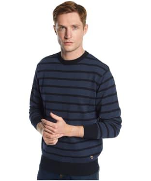 Men's Dubarry Avondale Crew Neck Sweater - Navy Multi