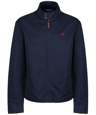 Men's Crew Clothing Harrington Jacket - Dark Navy
