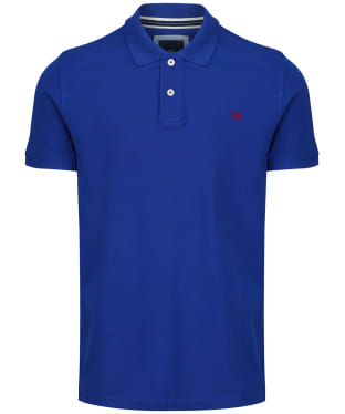 ec479c92e2 Men's Crew Clothing Classic Polo Shirt - Bright Blue