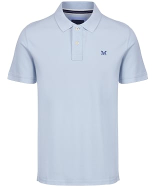 Men's Crew Clothing Classic Polo Shirt - Cool Blue