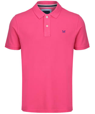 Men's Crew Clothing Classic Polo Shirt - Summer Pink