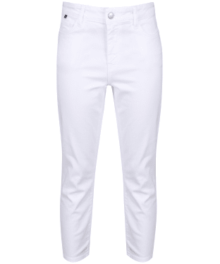 Women's Crew Clothing Cropped Jeans - Optic White