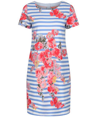 Women's Joules Ottie Shift Dress - Blue Stripe Floral