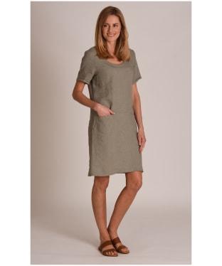 Women's Schoffel Athena Linen Dress - Khaki