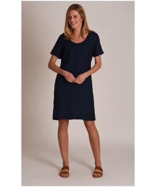 Women's Schoffel Athena Linen Dress - Navy