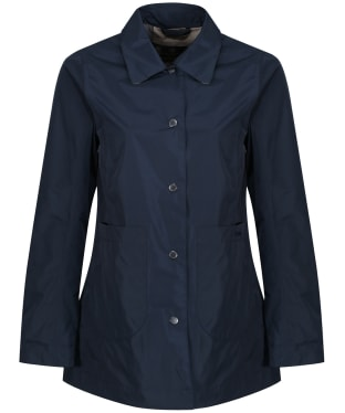 Women's Barbour x Sam Heughan Livingstone Waterproof Jacket - Navy